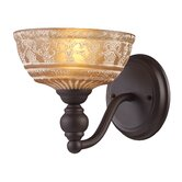 Norwich  Wall Sconce in Oiled Bronze