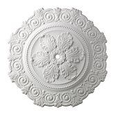 "33"" Marietta Medallion in White"