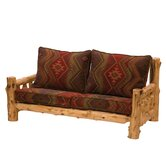 Traditional Cedar Log Living Room Collection