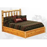 Cedar Traditional Slat Bed