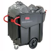 Mega Brute Mobile Waste Collector, Black