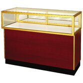 "Streamline 38"" x 36"" Jewelry Vision Standard Showcase with Panel Back"