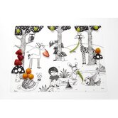 Day at the Pond Placemat in Black
