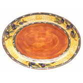 French Olives 17.75&quot; Oval Platter
