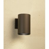 "9"" Cans and Bullets Outdoor Wall Lantern in Architectural Bronze"