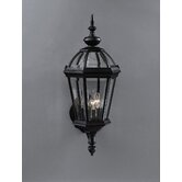 "Trenton Black 23"" Incandescent  Outdoor Wall Lantern"