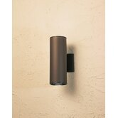 "12"" Cans and Bullets Outdoor Wall Lantern in Architectural Bronze"