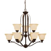 Langford 9 Light Up Chandelier