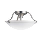"7.5"" 2 Light Semi Flush Mount"