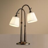 House Beautiful  Portable Desk Lamp in Burnished Bronze Finish