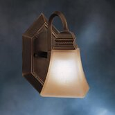 Polygon Wall Sconce in Oiled Bronze