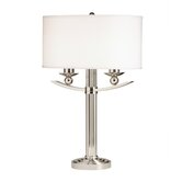 Palla Table Lamp in Polished Nickel