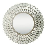 0.9&quot; Mirror in Antique Silver