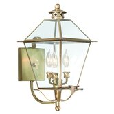 Montgomery  Wall Lantern with Glass Top