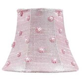 Chandelier Shade with Pearl Dots in Pink