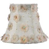 Petal Flower Chandelier Shade in Ivory