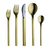 Mono-A Edition 50 Goldplated 5-Piece Set by Peter Raacke