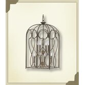 8 Light Birdcage Foyer Pendant