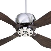 "52"" Elica 5 Blade Ceiling Fan with Remote"