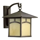Sorrel One Light Outdoor Wall Lantern in Oiled Bronze