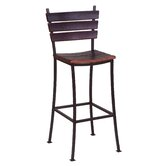 Stave 24&quot; Back Bar Stool