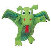 Tellatale Puppet Green Dragon