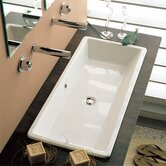 Gaia 80 Built -In Bathroom Sink in White