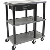 Tuffy Extra Wide Open Shelf Presentation Station