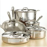 Copper-Core 5-Ply 10-Piece Cookware Set