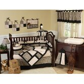 Animal Safari Collection 9pc Crib Bedding Set