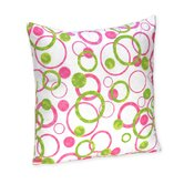 Circles Pink Collection Decorative Pillow