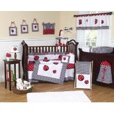 Polka Dot Ladybug Crib Bedding Collection