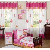 Butterfly Pink Orange Toddler Bedding Collection