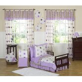Mod Dots Purple Toddler Bedding Collection