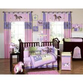 Pony Collection 9pc Crib Bedding Set