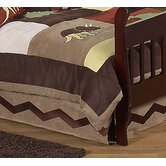 Dinosaur Land Collection Toddler Bed Skirt