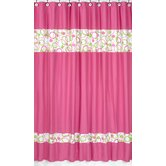 Circles Pink Collection Shower Curtain