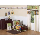 Jungle Time Collection 5pc Toddler Bedding Set