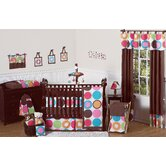 Deco Dot 9 Piece Crib Bedding Set