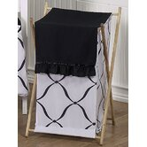 Black and White Princess Laundry Hamper