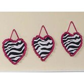 Funky Zebra Wall Hangings