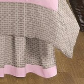 Elephant Pink Collection Queen Bed Skirt