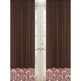 Nicole Collection Window Panels  - Chocolate