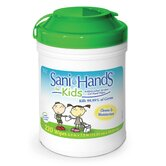 Sani-Hands Kids Antimicrobial Alcohol Gel Hand Wipe