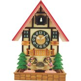 Wooden Musical Cuckoo Clock with Motion