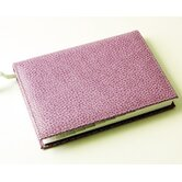 On the Go Pebble Grain Medium Address Book in Purple