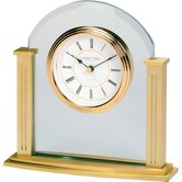 Mantle Clock in Gold