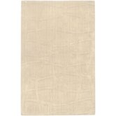 Sculpture Ivory Checked Rug