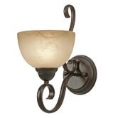 Riverton  Wall Sconce in Peppercorn