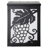 Grapevine Vertical Wall Mounted Mailbox